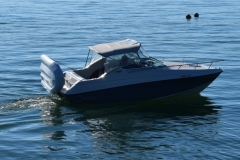 Dogfish 8 as yacht tender